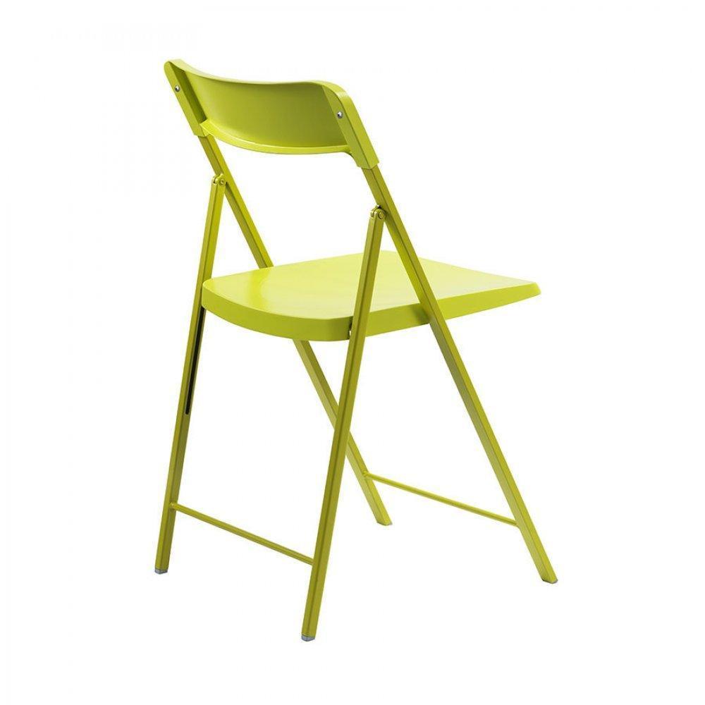 Chaises pliantes tables et chaises lot de 2 chaises pliantes kully en plast - Lot chaises pliantes ...