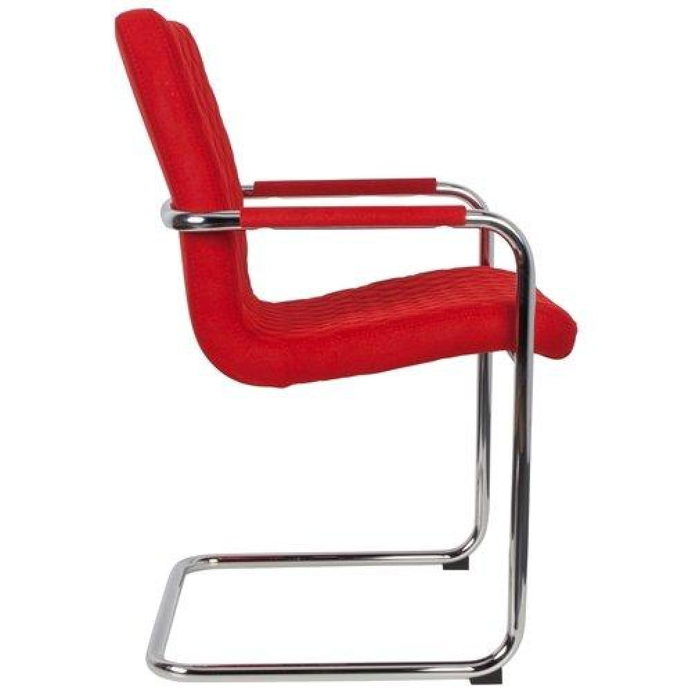 Chaises tables et chaises zuiver chaise rally tissu for Chaise rouge et bleue