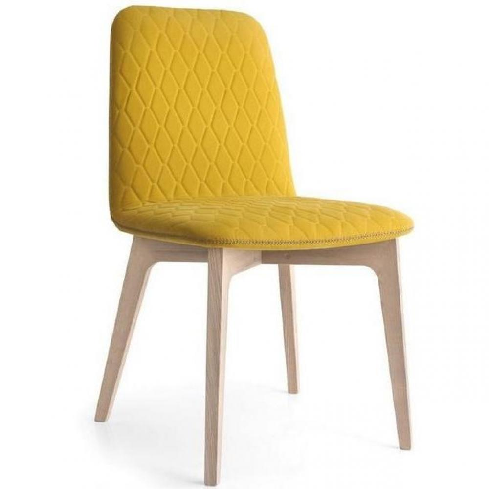 Chaises tables et chaises calligaris chaise sami for Chaise dsw jaune moutarde