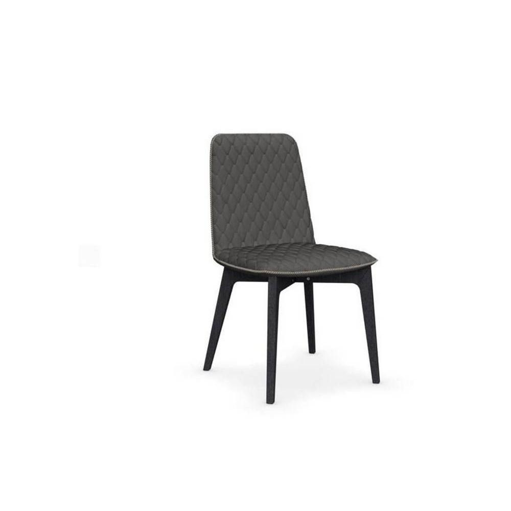 Chaises tables et chaises calligaris chaise sami for Chaise grise bois