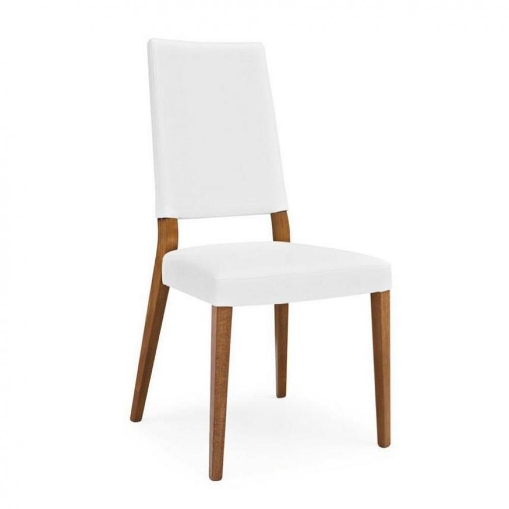 Chaises tables et chaises calligaris chaise sandy noyer for Chaise bois et blanc