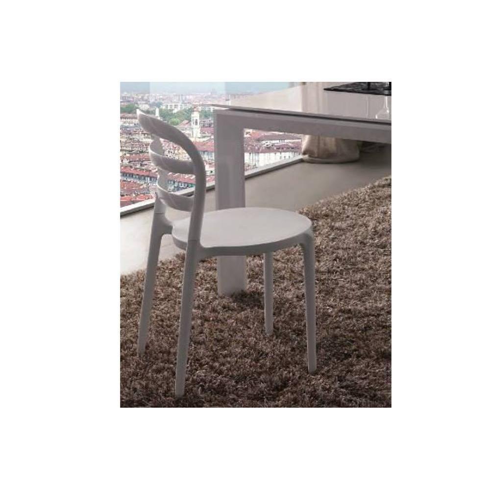 Chaises tables et chaises chaise dejavu design blanc - Table et chaises design ...