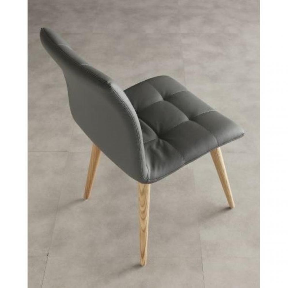 chaises tables et chaises chaise finland design gris inside75. Black Bedroom Furniture Sets. Home Design Ideas