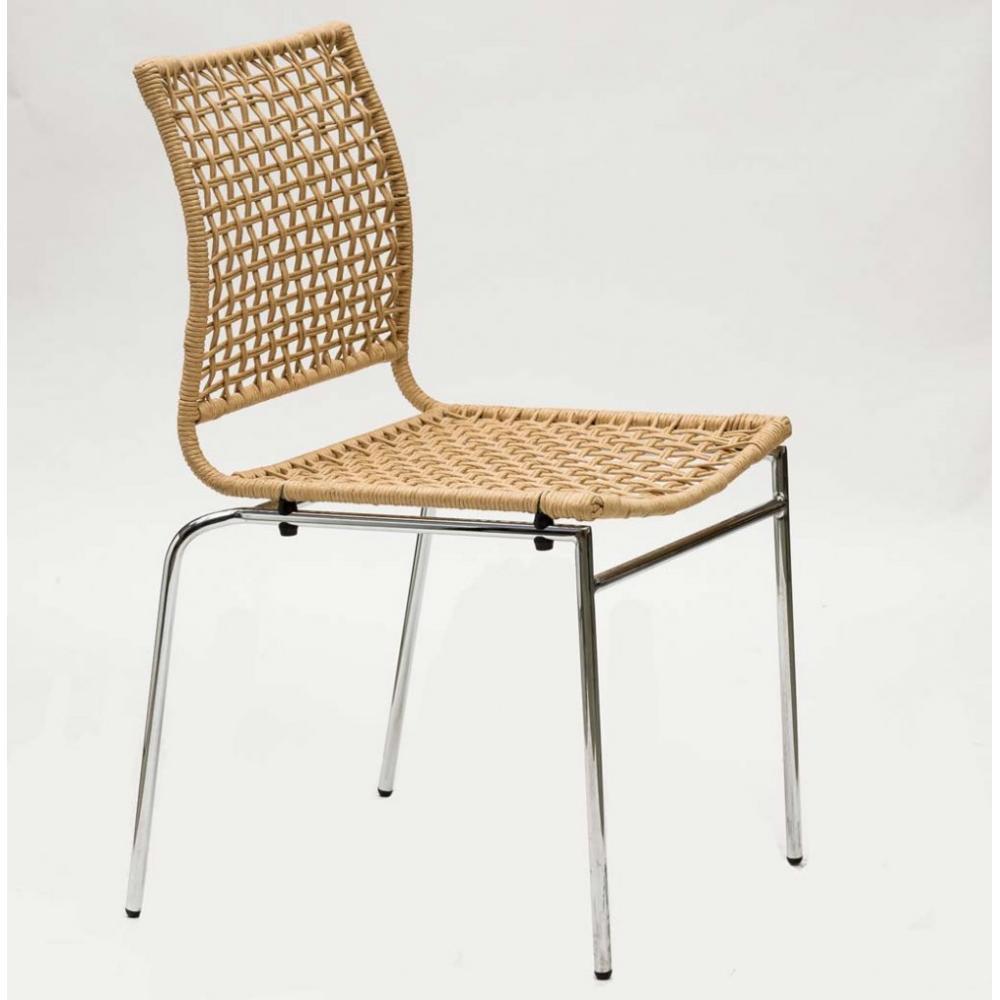 Chaises tables et chaises chaise korda design naturel - Table et chaises design ...