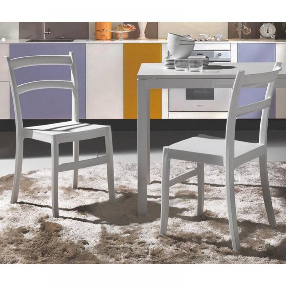 chaises tables et chaises lot de 2 chaises venezia. Black Bedroom Furniture Sets. Home Design Ideas