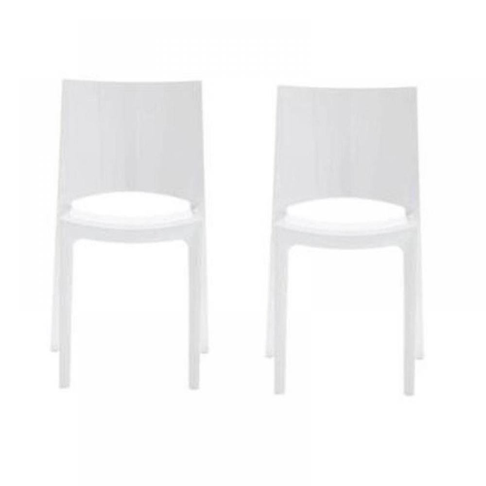 chaises tables et chaises lot de 2 chaises sunshine. Black Bedroom Furniture Sets. Home Design Ideas