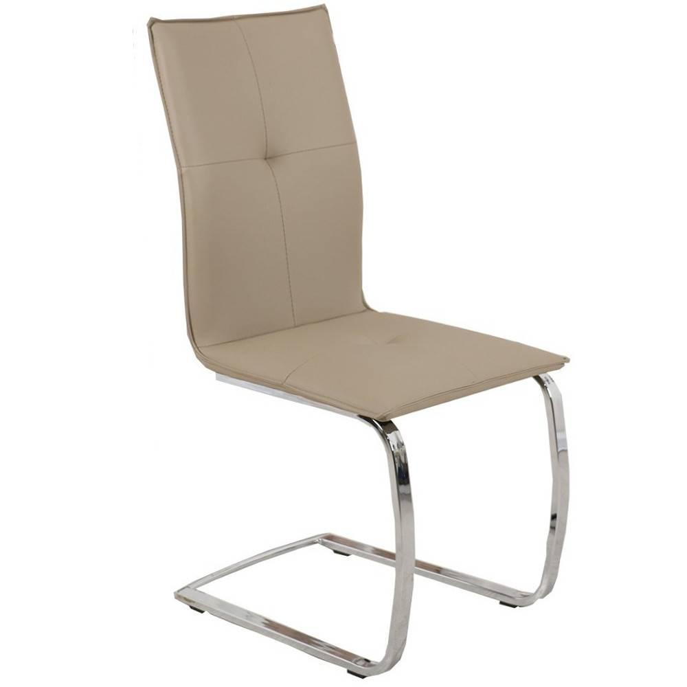 chaises tables et chaises chaise design swing en tissu enduit polyur thane simili fa on cuir. Black Bedroom Furniture Sets. Home Design Ideas