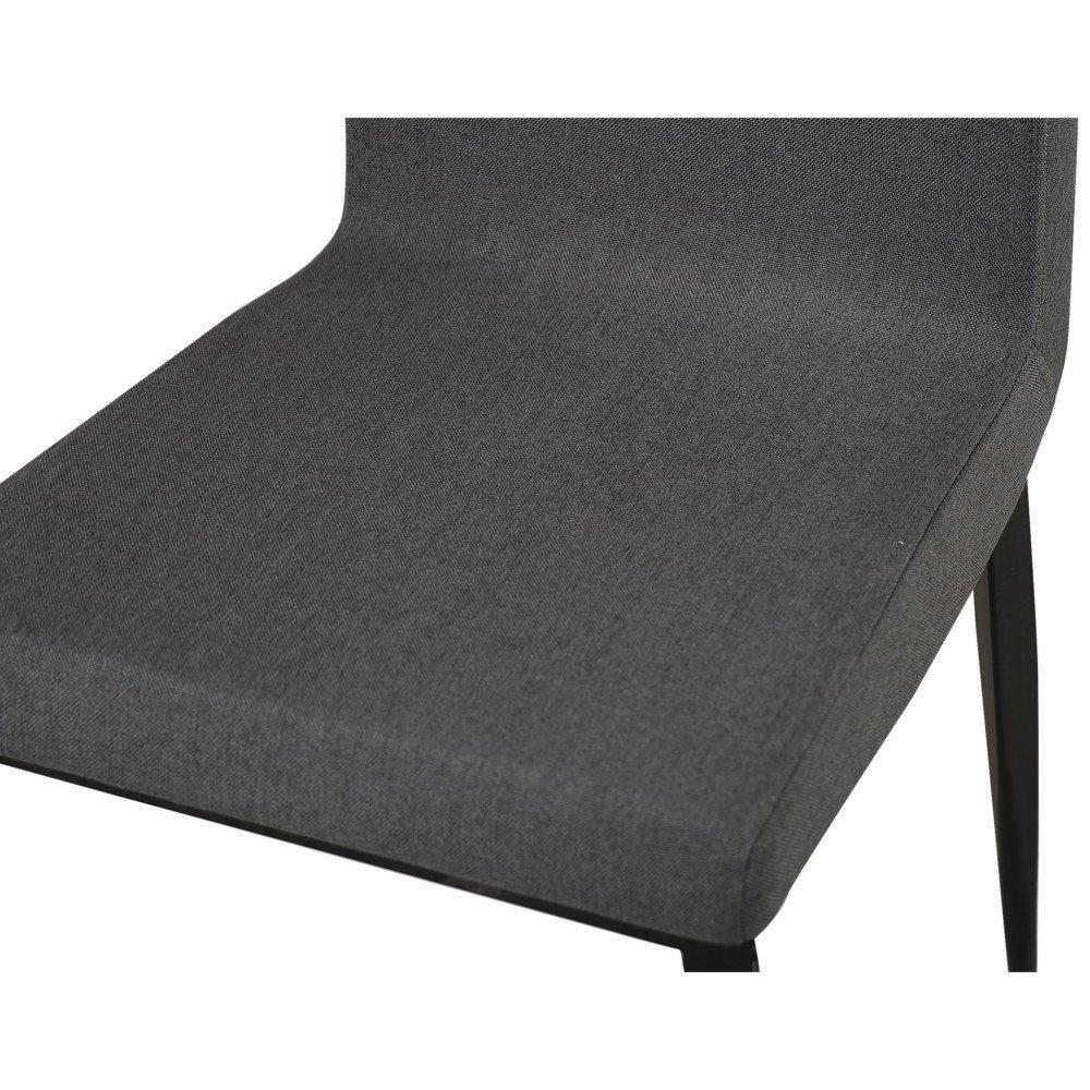 chaises tables et chaises chaise vip design tissu gris. Black Bedroom Furniture Sets. Home Design Ideas