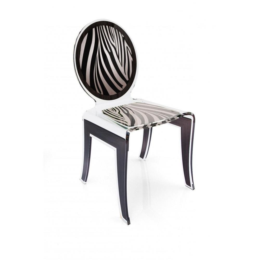 chaise zebre. Black Bedroom Furniture Sets. Home Design Ideas
