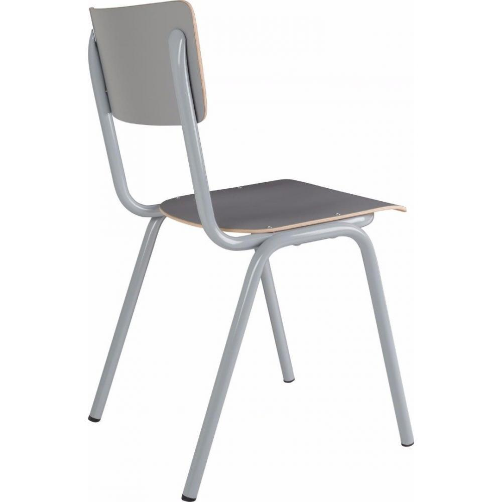 Chaises tables et chaises zuiver chaise back to school for Chaise zuiver