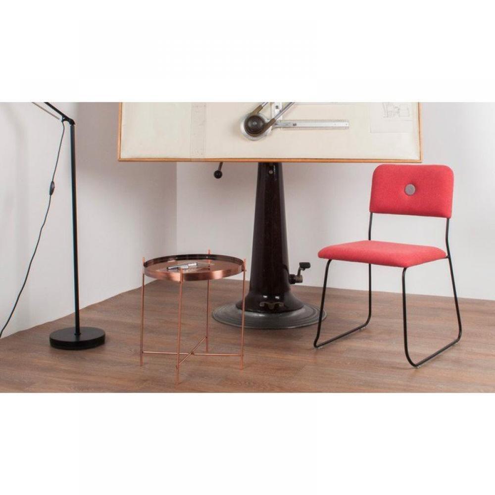 chaises tables et chaises zuiver chaise feline bleue inside75. Black Bedroom Furniture Sets. Home Design Ideas