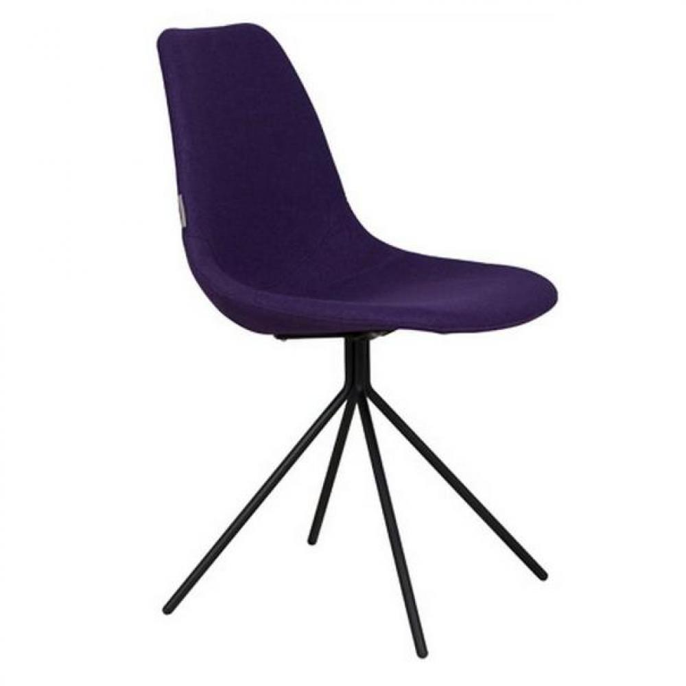 chaises meubles et rangements chaise zuiver fourteen violette. Black Bedroom Furniture Sets. Home Design Ideas