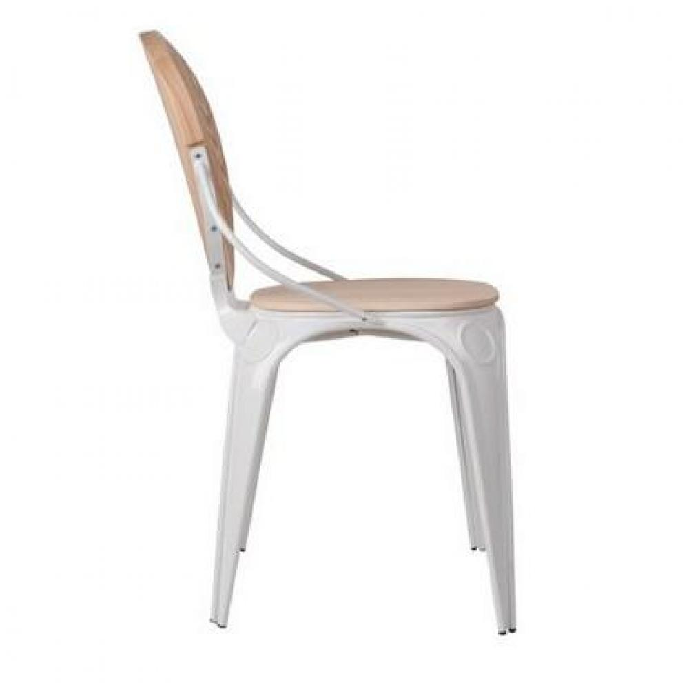 Chaises tables et chaises zuiver chaise louix blanche for Chaise zuiver