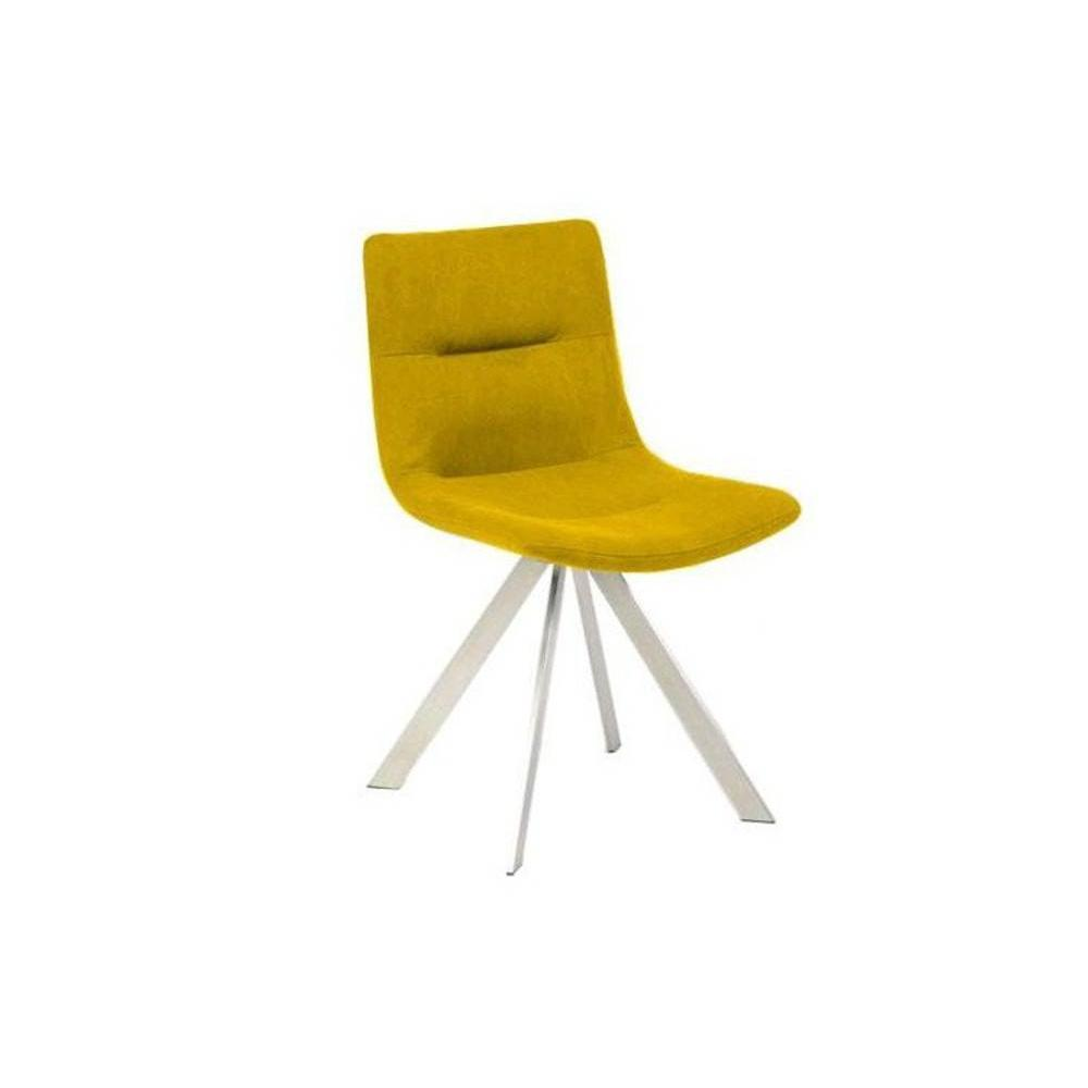 Chaises tables et chaises chaise pirate design jaune - Chaise jaune moutarde ...