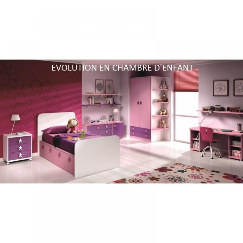 chambre enfant chambre literie chambre b b volutive en chambre d 39 enfant aloha couchage 80. Black Bedroom Furniture Sets. Home Design Ideas