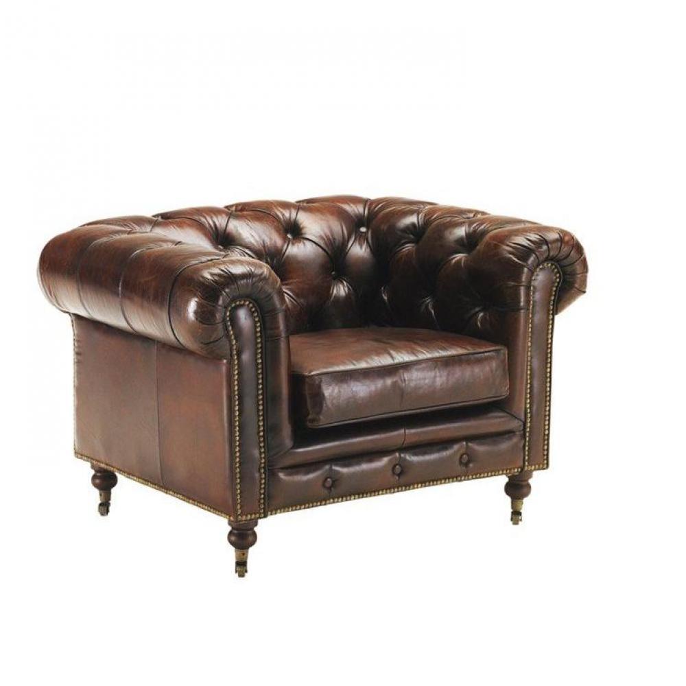 Rapido convertibles canap s syst me rapido fauteuil chesterfield vintage en - Fauteuil chesterfield cuir marron ...