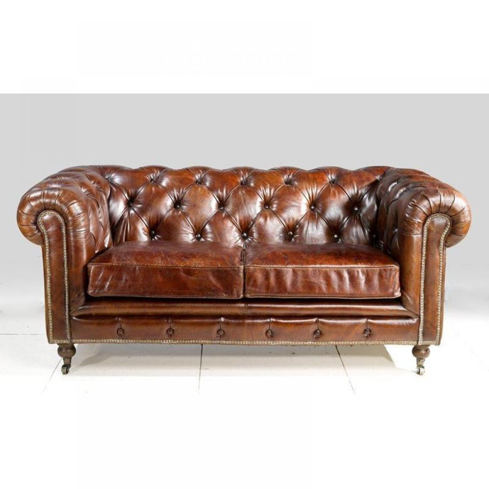 Canap s chesterfield canap s et convertibles canap chesterfield vintage 2 - Canape chesterfield convertible 2 places ...