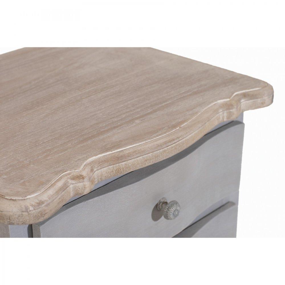 chevets meubles et rangements chevet 2 tiroirs cassie en. Black Bedroom Furniture Sets. Home Design Ideas