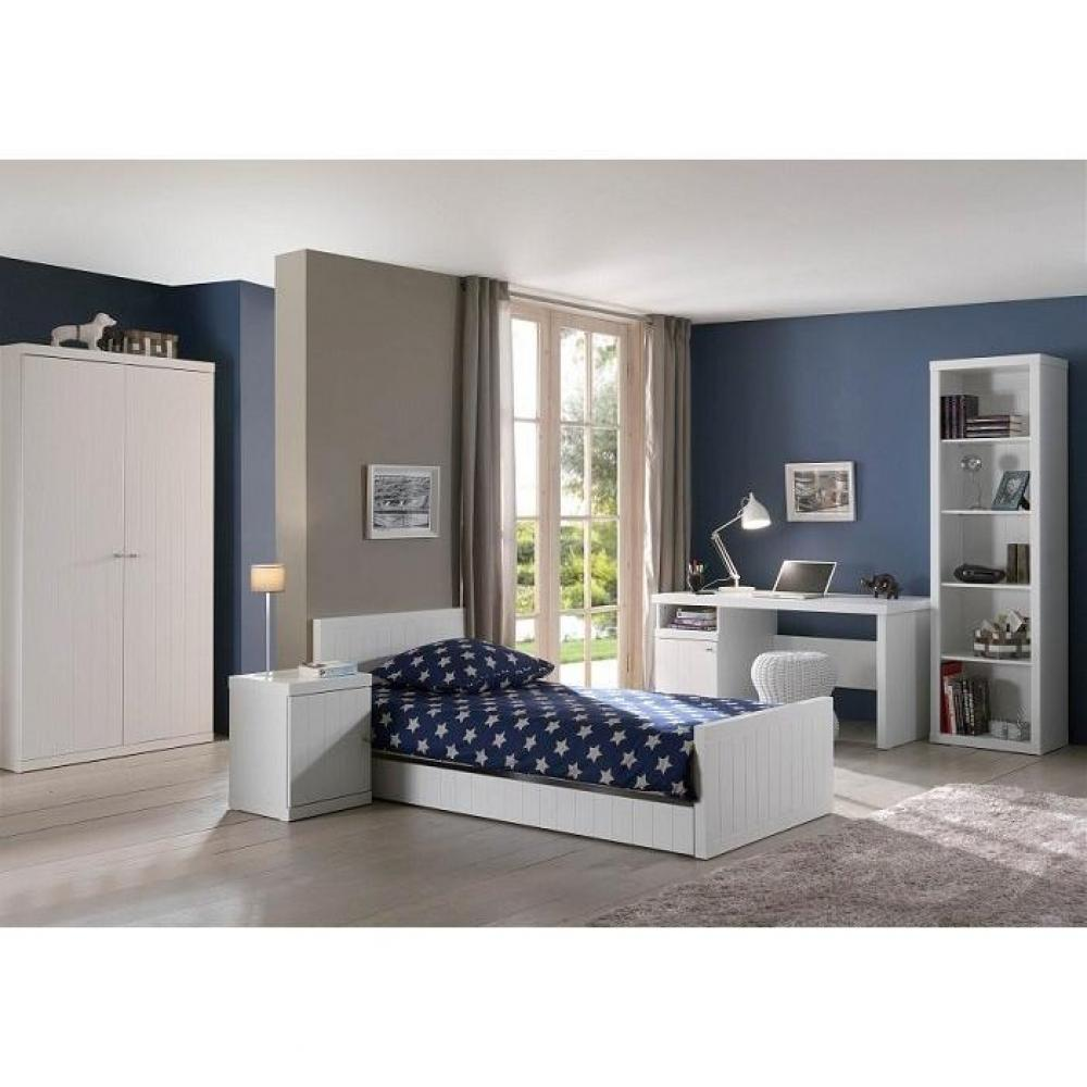 chevets meubles et rangements chevet hydrus design blanc 1 porte inside75. Black Bedroom Furniture Sets. Home Design Ideas