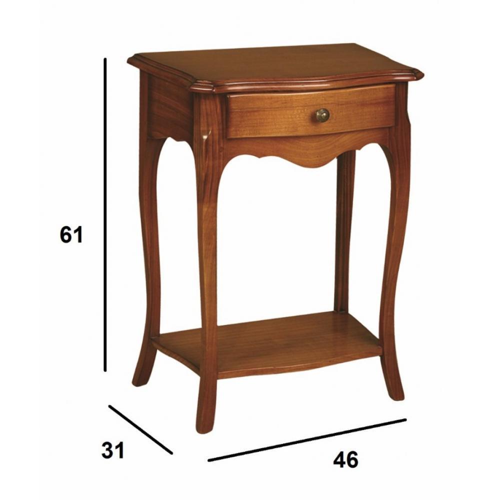Chevets meubles et rangements chevet versailles avec 1 for Chevet mural avec tiroir