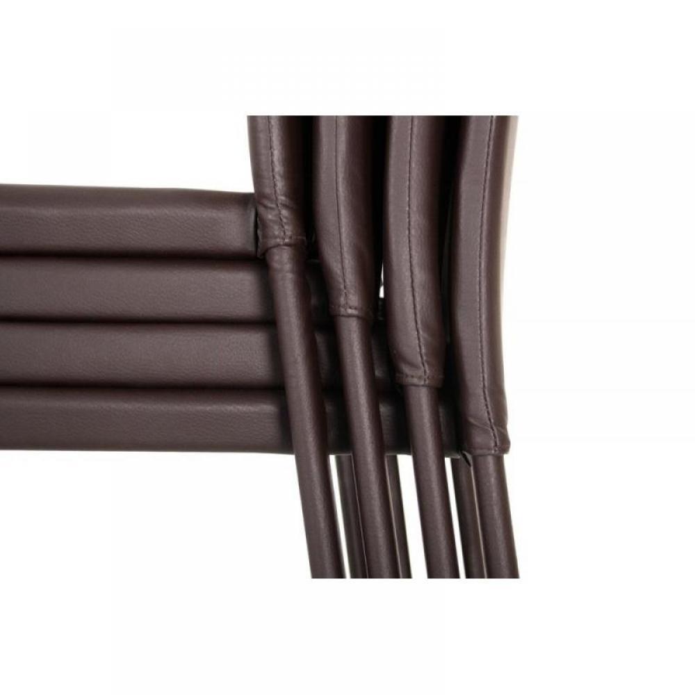 Chaises tables et chaises chicago chaise design - Chaises cuir marron ...