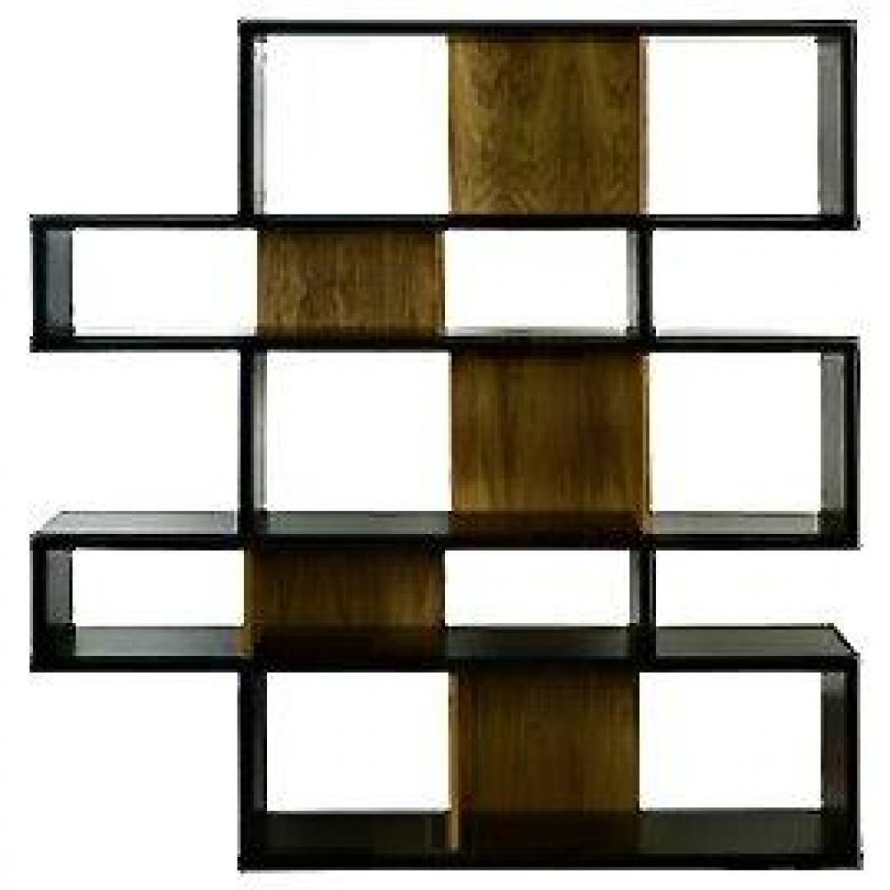 Biblioth ques tag res meubles et rangements city biblioth que design noir - Etageres bibliotheques design ...