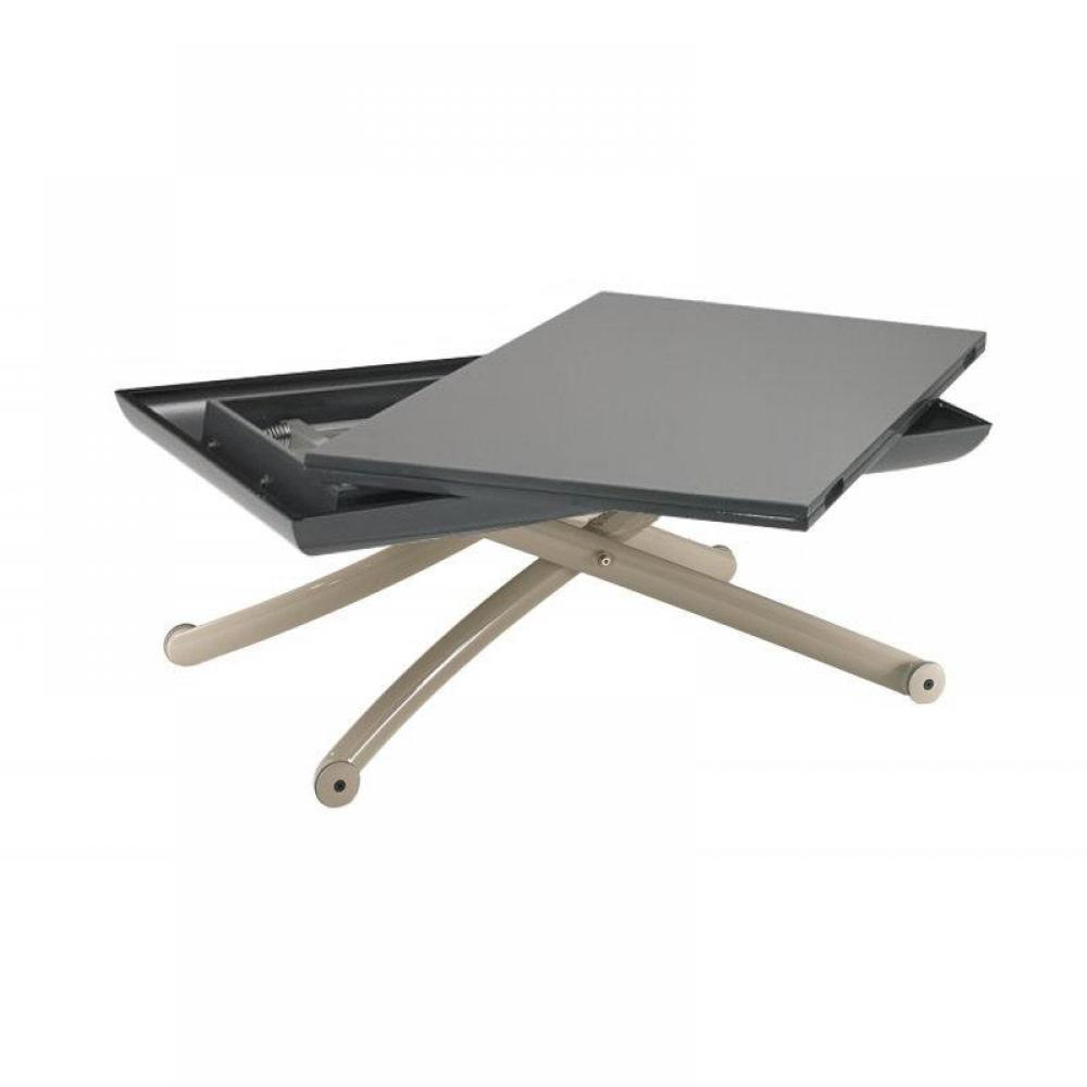 Table basse extensible relevable table basse modulable for Table basse coulissante