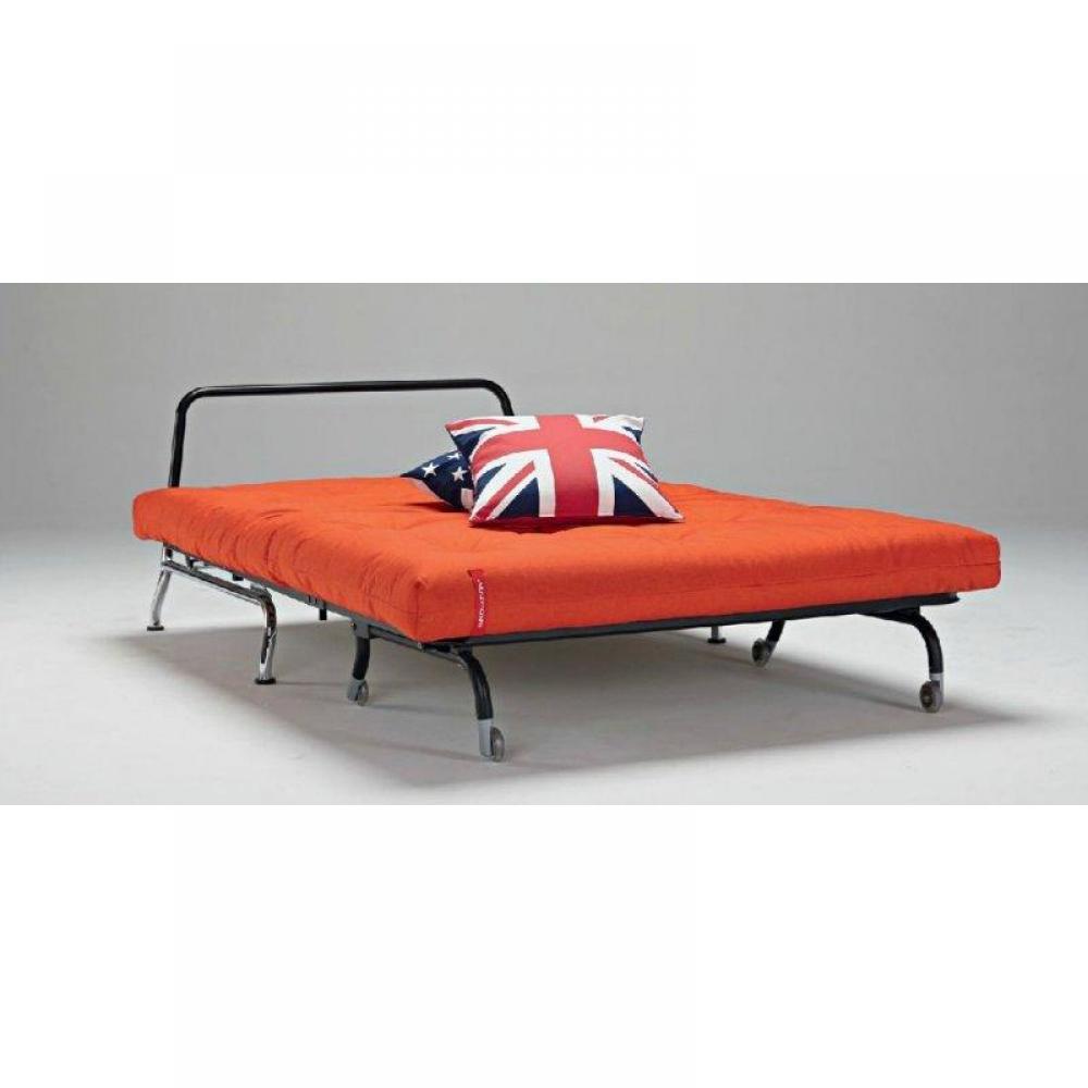 canap lit bz skater rouge orange design convertible 200. Black Bedroom Furniture Sets. Home Design Ideas