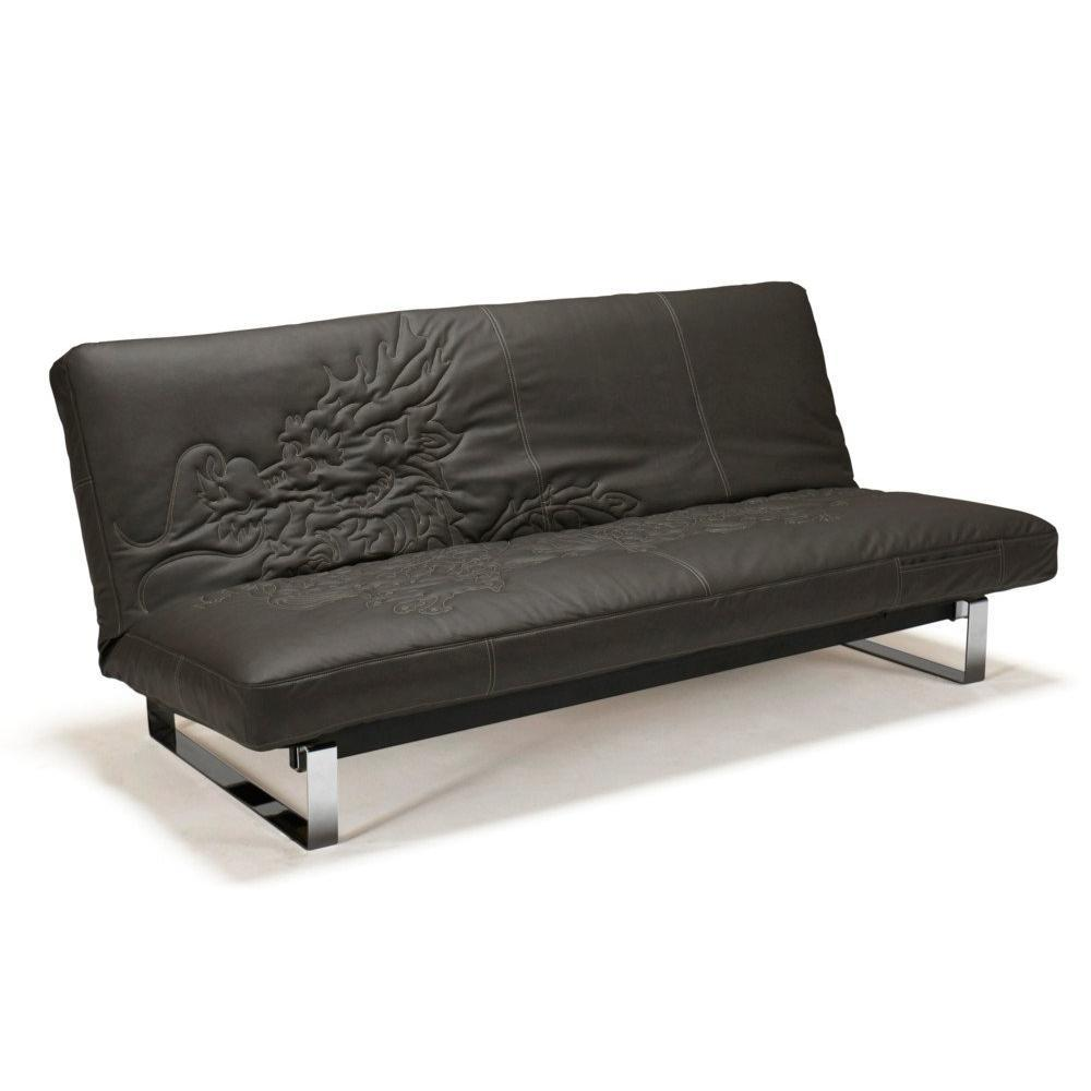 Minimum innovation dragon housse gris clic clac convertible lit 200 140cm ebay - Clic clac confort couchage quotidien ...