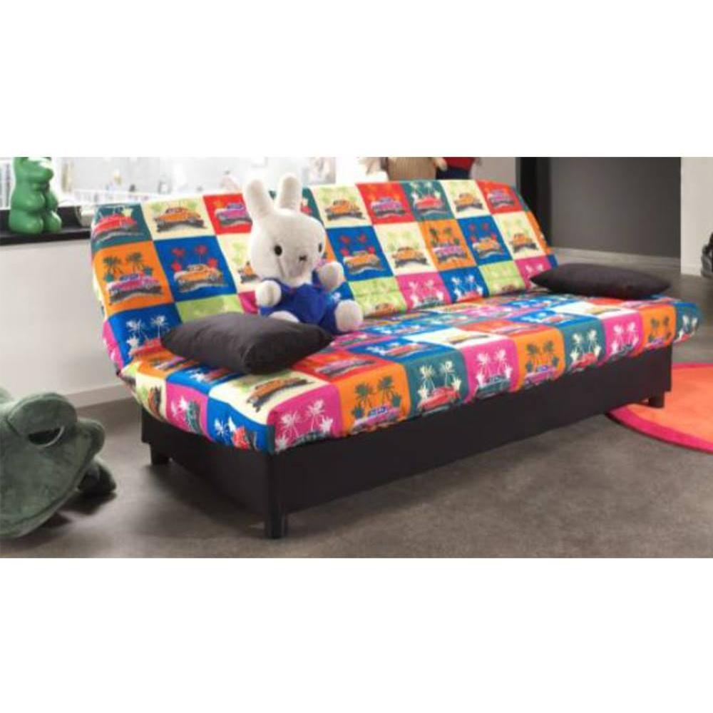 canap s lits clic clac canap s et convertibles clic clac convertible limerick imprim havana. Black Bedroom Furniture Sets. Home Design Ideas