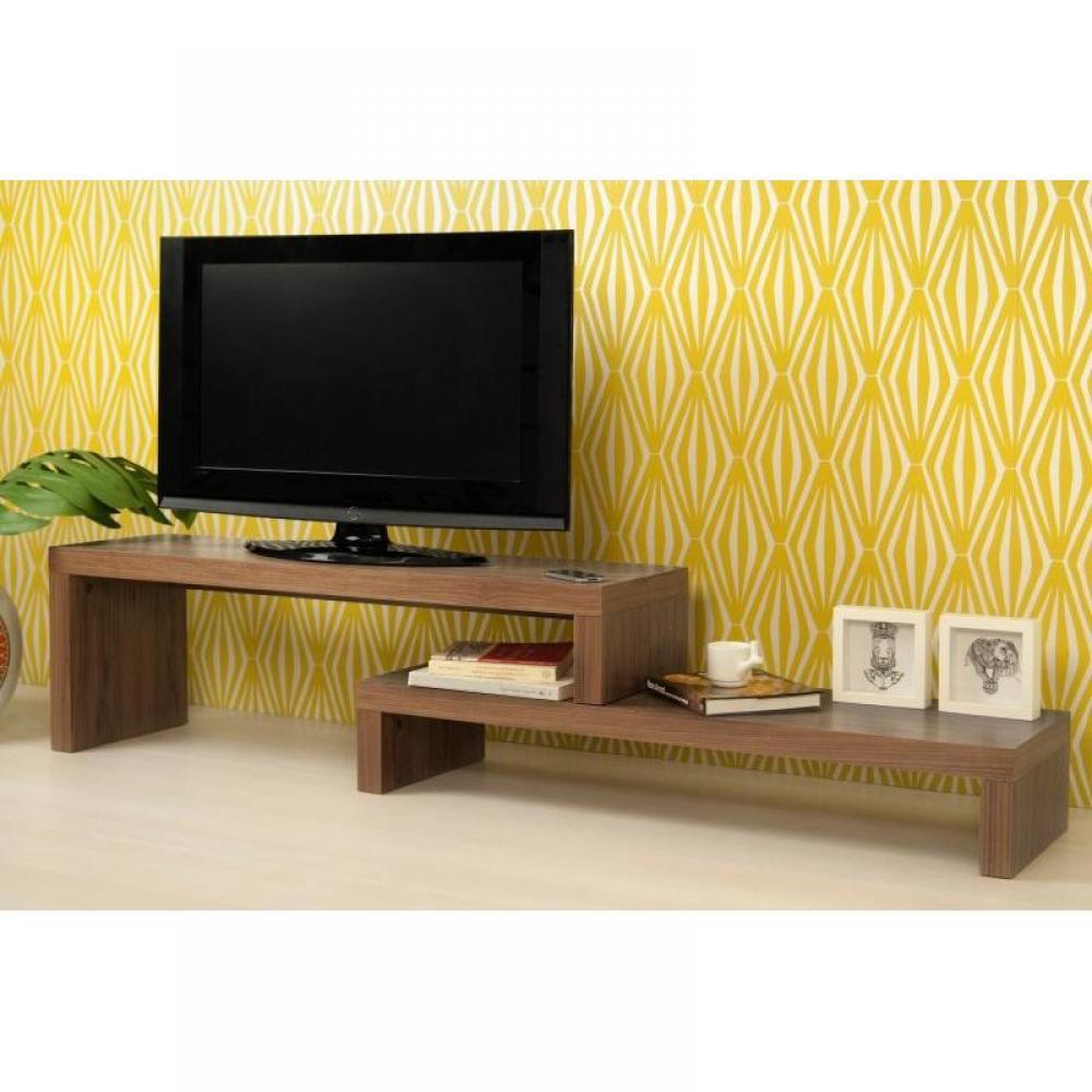 Meuble Tv Design Wenge : Meubles Tv, Meubles Et Rangements, Cliff 120 Meuble Tv Modulable Wenge