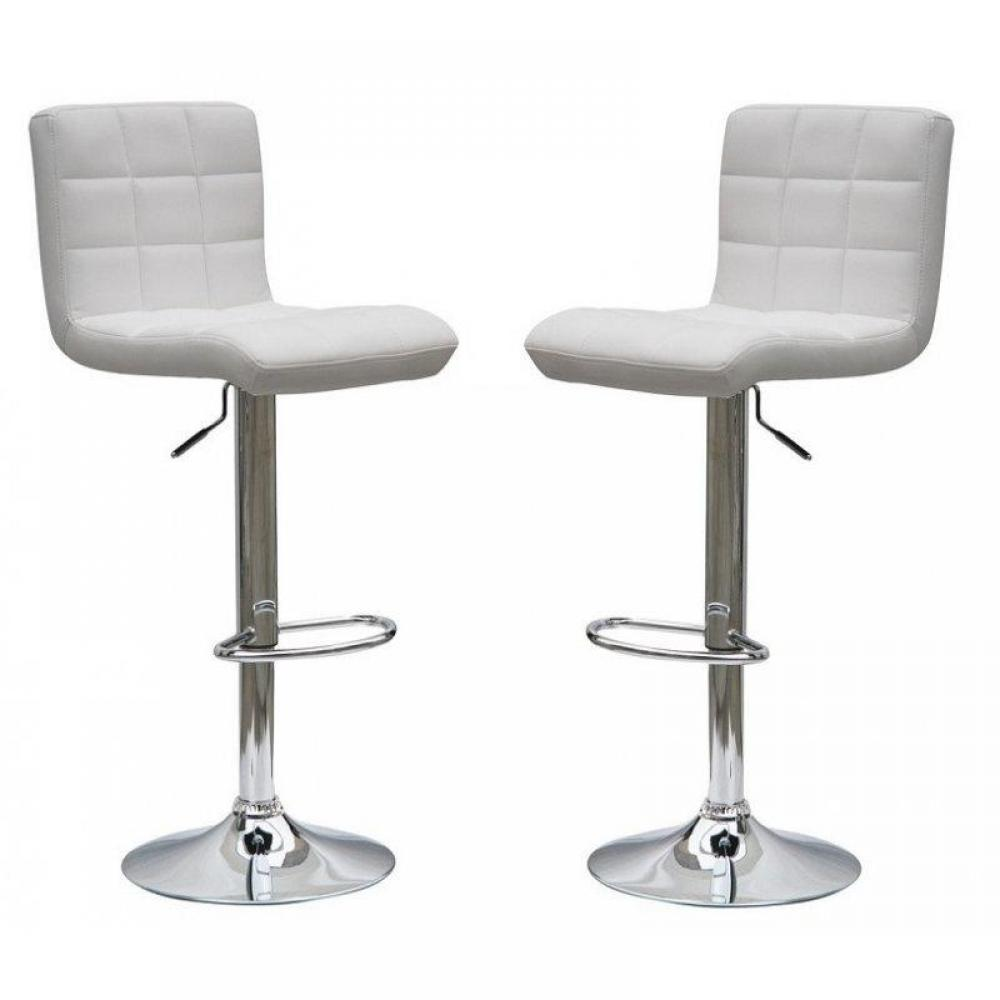 tabourets de bar tables et chaises lot de 2 tabourets chaise de bar coco relevable rotatif. Black Bedroom Furniture Sets. Home Design Ideas