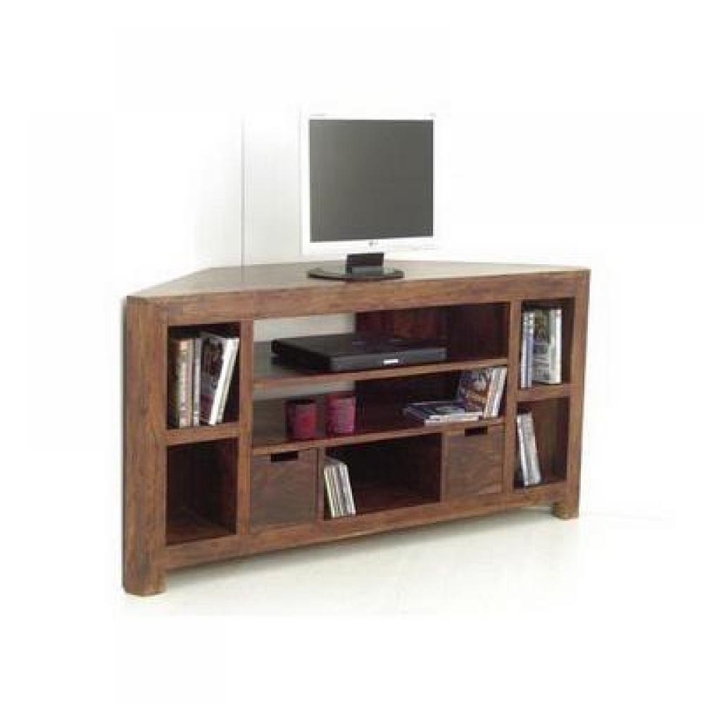 Meubles tv meuble tv d 39 angle en palissandre inside75 - Meuble tv en palissandre ...
