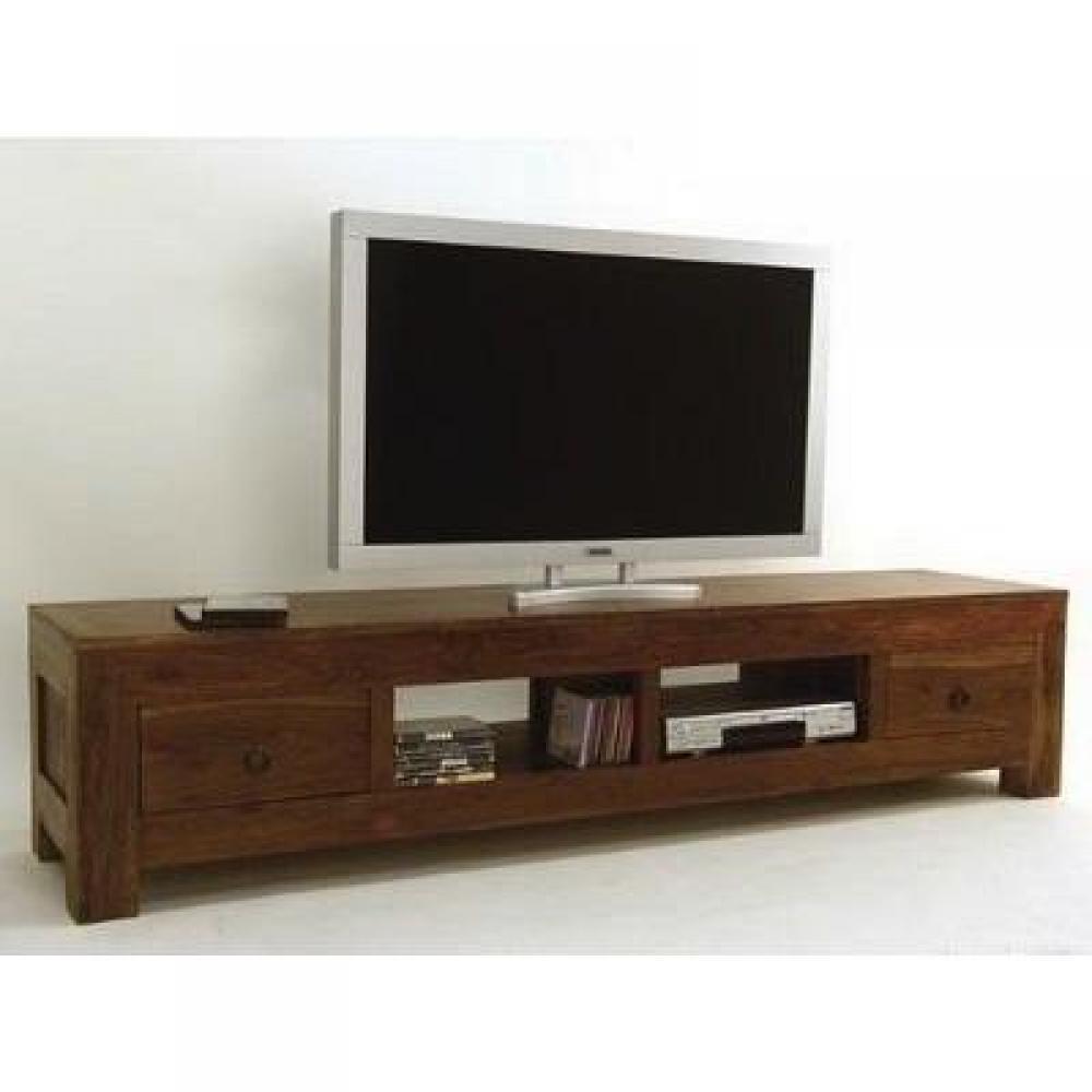 Meubles tv meuble tv plasma zen 2t en palissandre for Meuble tv en palissandre