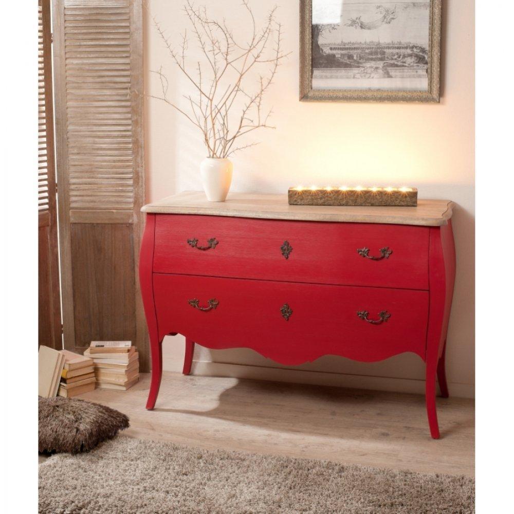 commodes meubles et rangements console baroque madrid 3 tiroirs coloris blanc en manguier. Black Bedroom Furniture Sets. Home Design Ideas