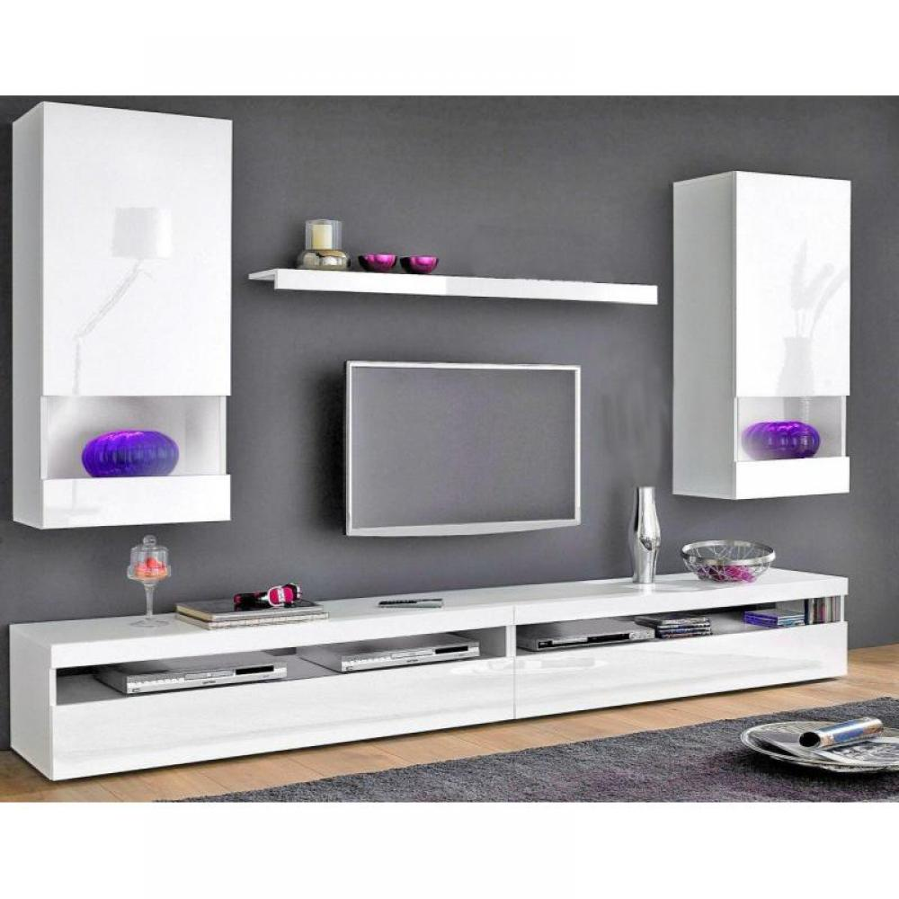 meuble tv etagere murale maison design. Black Bedroom Furniture Sets. Home Design Ideas