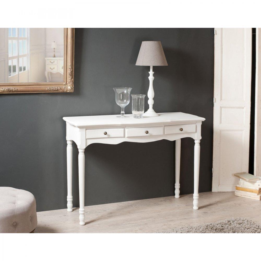 consoles tables et chaises console 3 tiroirs anna en fr ne inside75. Black Bedroom Furniture Sets. Home Design Ideas