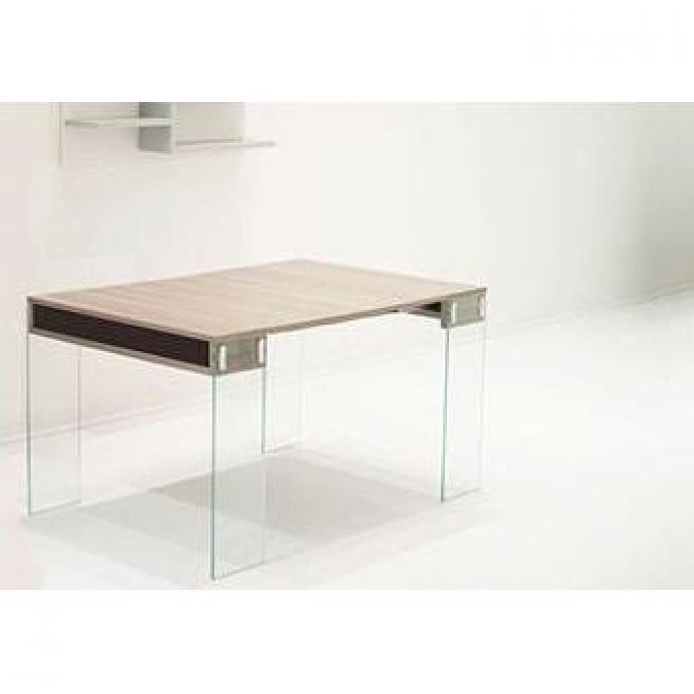 Consoles extensibles tables et chaises console extensible stef noyer c rus - Console extensible verre ...