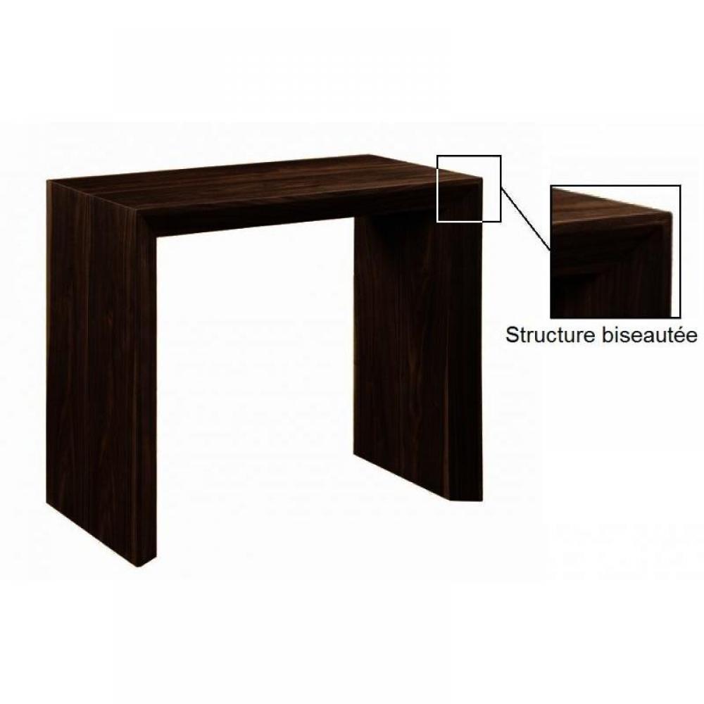 Consoles extensibles tables et chaises console extensible en table repas extenso deluxe bois - Tafel console extensible solde ...