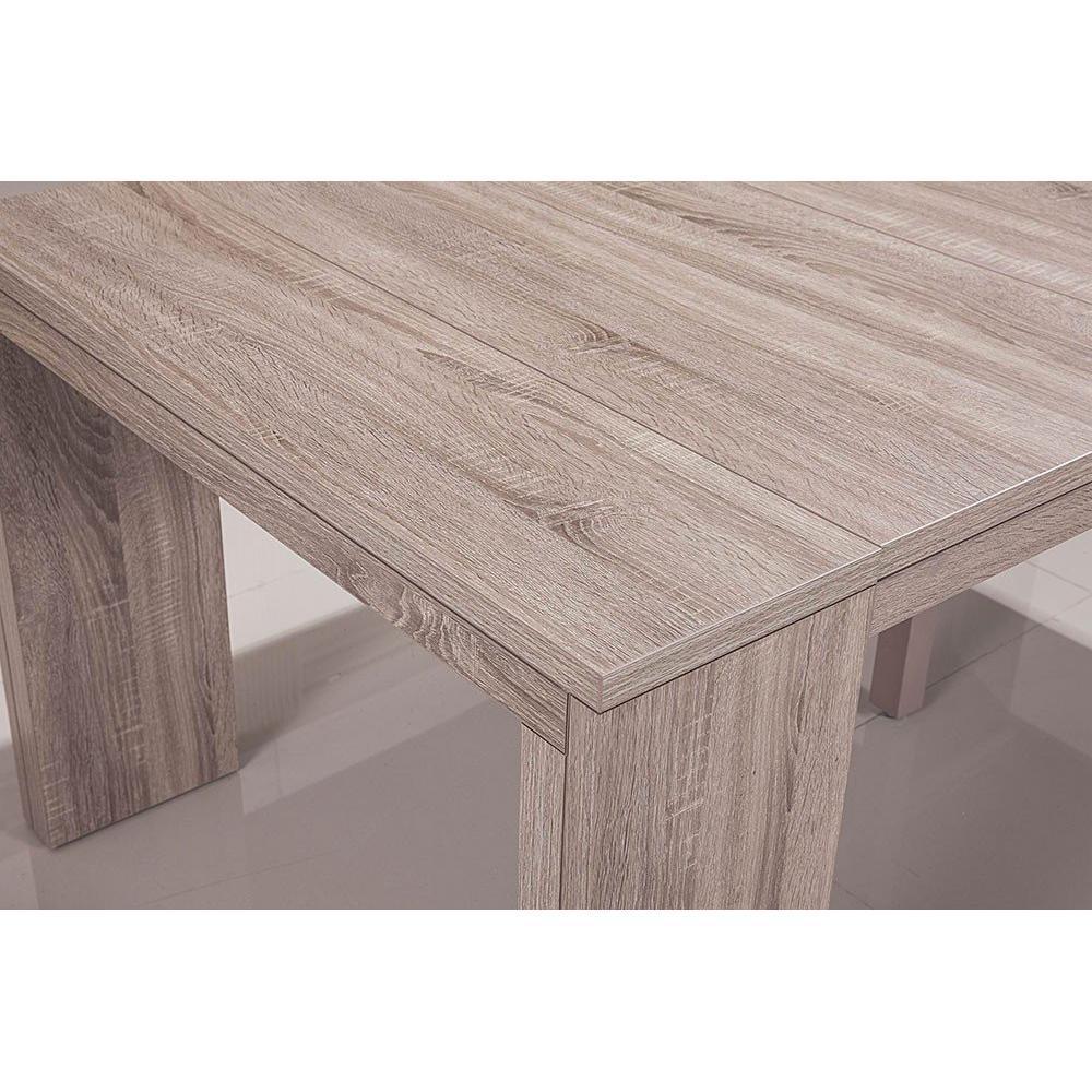 consoles extensibles tables et chaises console extensible illusion xl ch ne clair inside75. Black Bedroom Furniture Sets. Home Design Ideas