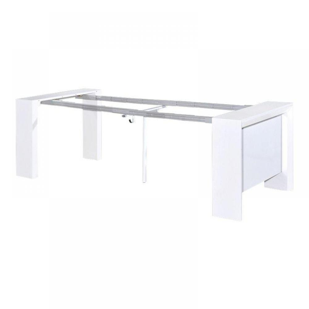 Console extensible rallonge integre for Table console extensible rallonges incorporees