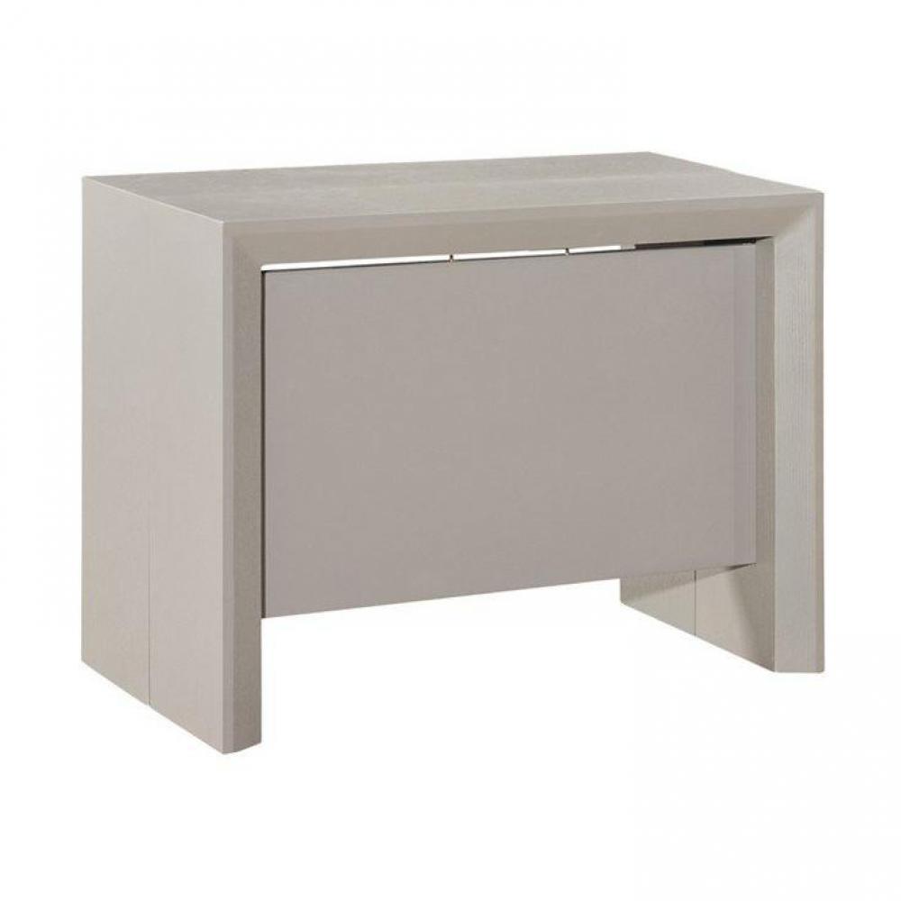 Consoles extensibles tables et chaises console extensible misty gris mat a - Console extensible gris ...