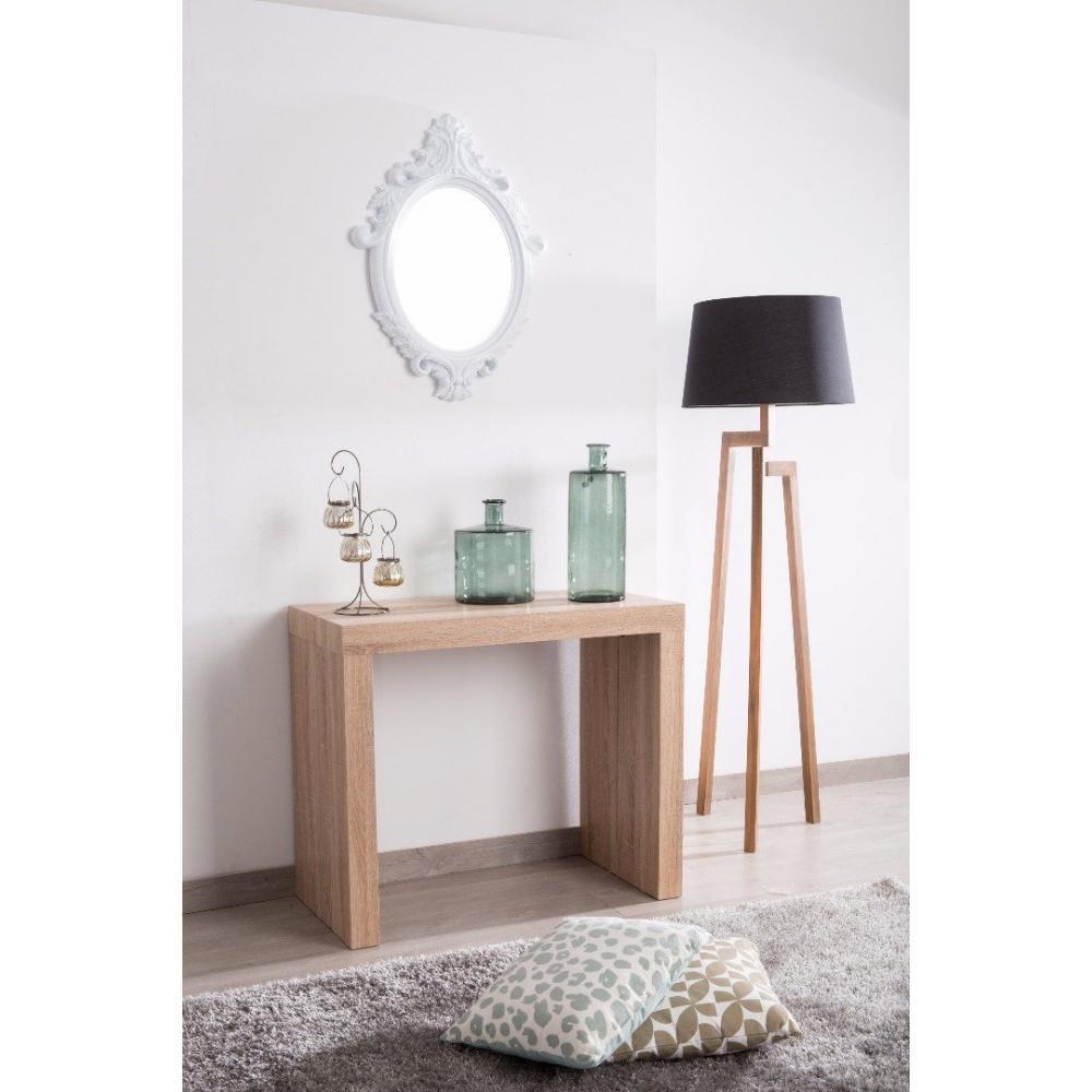 consoles extensibles tables et chaises console molto ch ne et blanc extensible en table repas. Black Bedroom Furniture Sets. Home Design Ideas