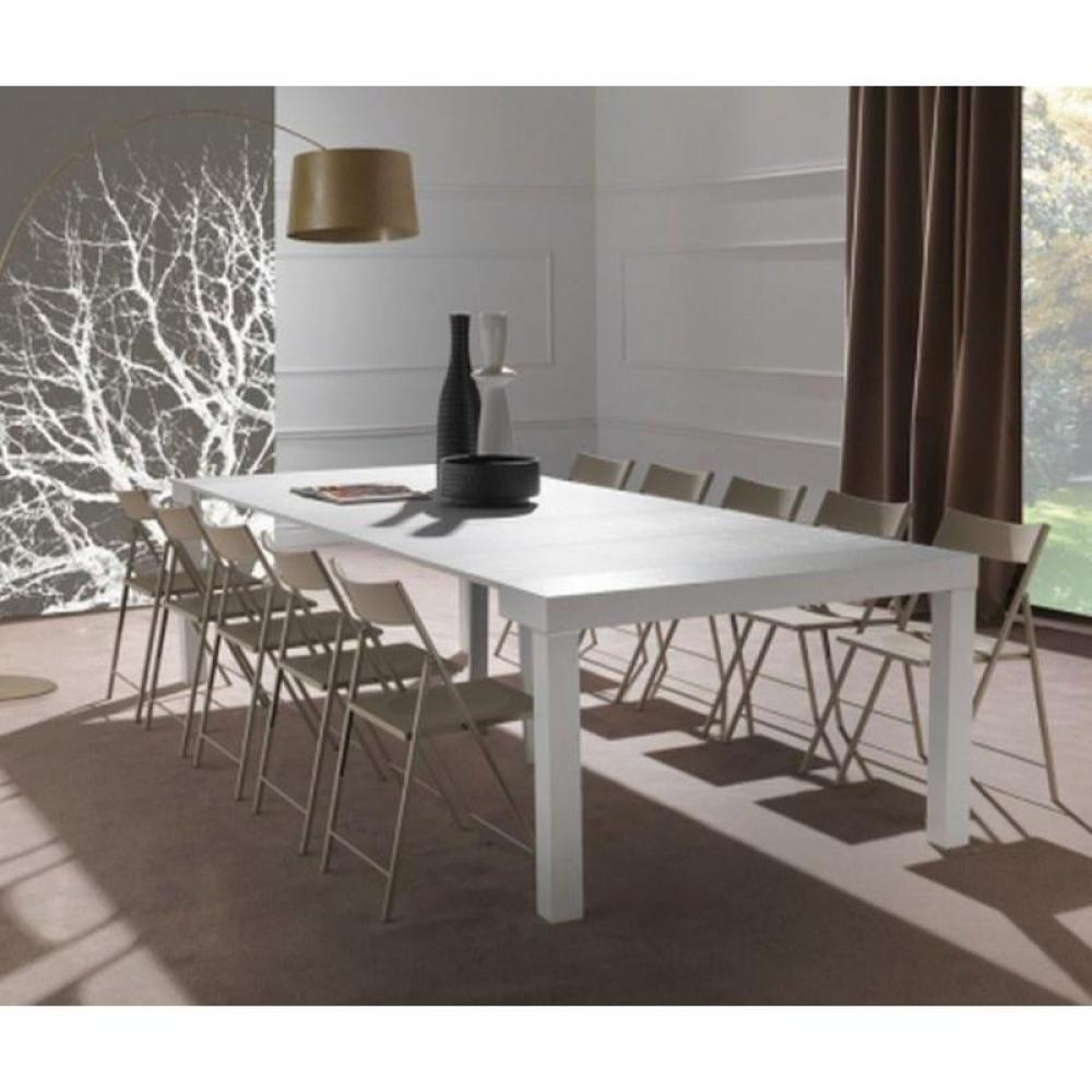 Consoles extensibles tables et chaises console for Table extensible laque blanc