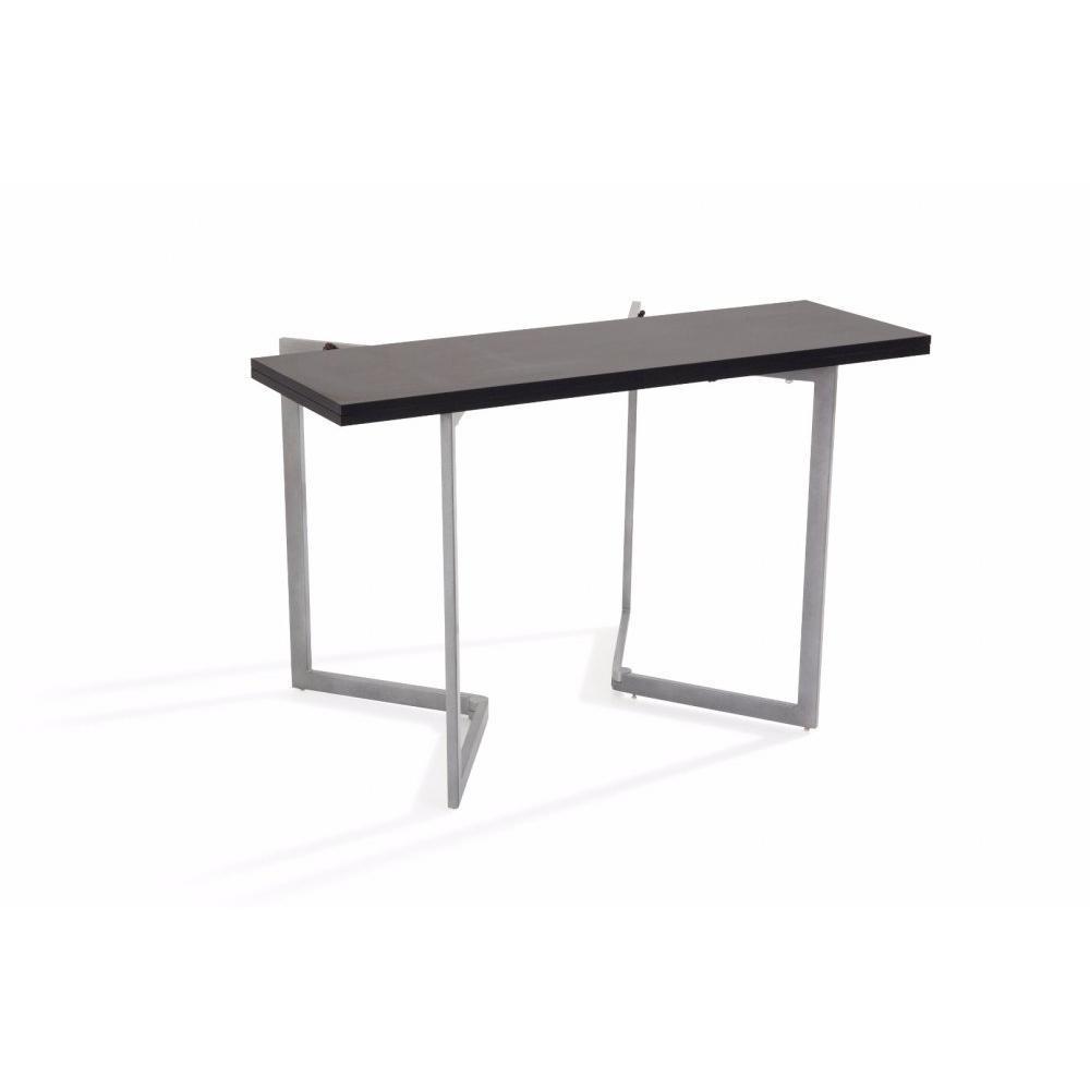 Consoles extensibles tables et chaises console extensible rinaldi noir in - Table console extensible noir ...