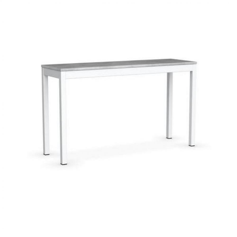 Consoles extensibles tables et chaises calligaris console extensible snap gris b ton pi tement - Console extensible laque blanc ...