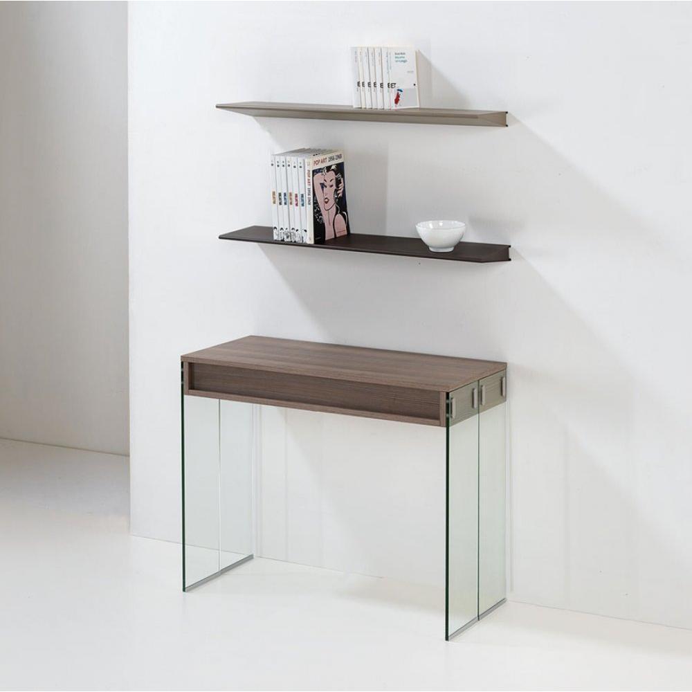 Consoles extensibles tables et chaises console extensible stef xl coloris o - Console extensible verre ...