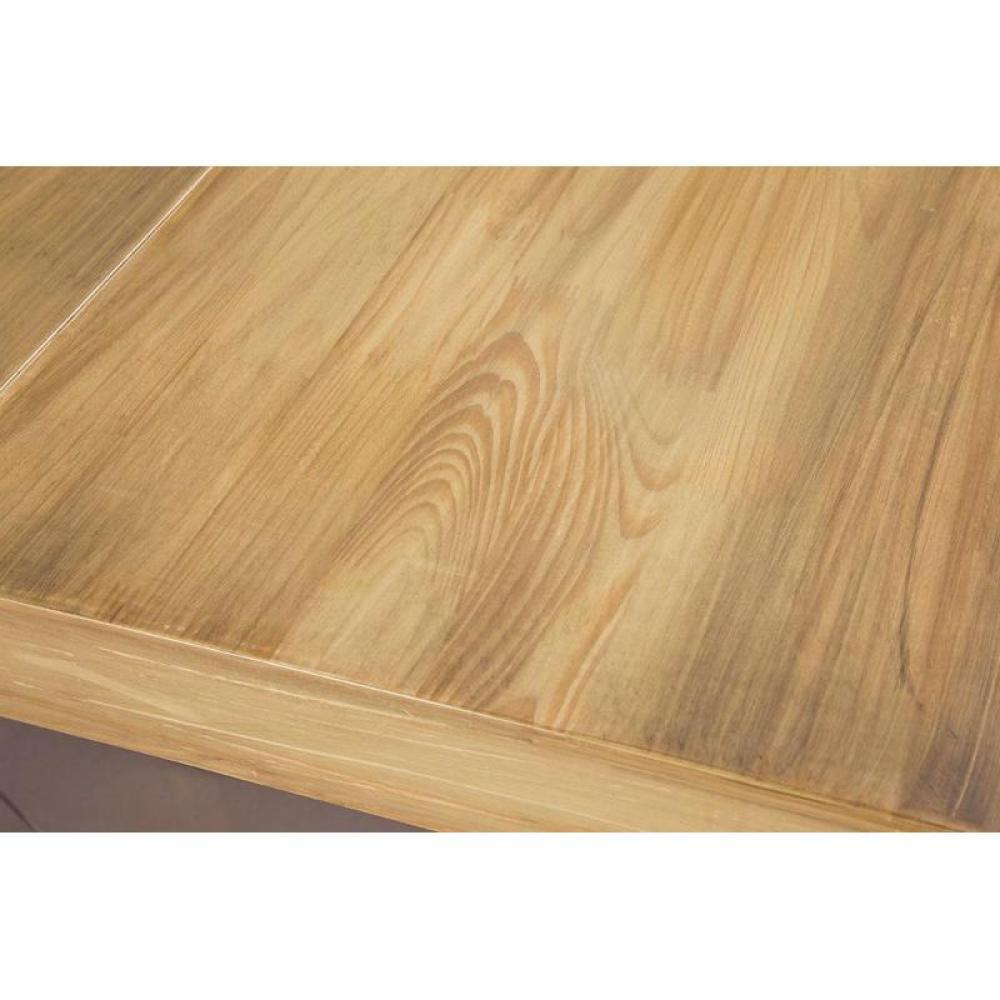Extensible bois massif 4 rallonges weng table de salle for Table a manger bois massif rallonge