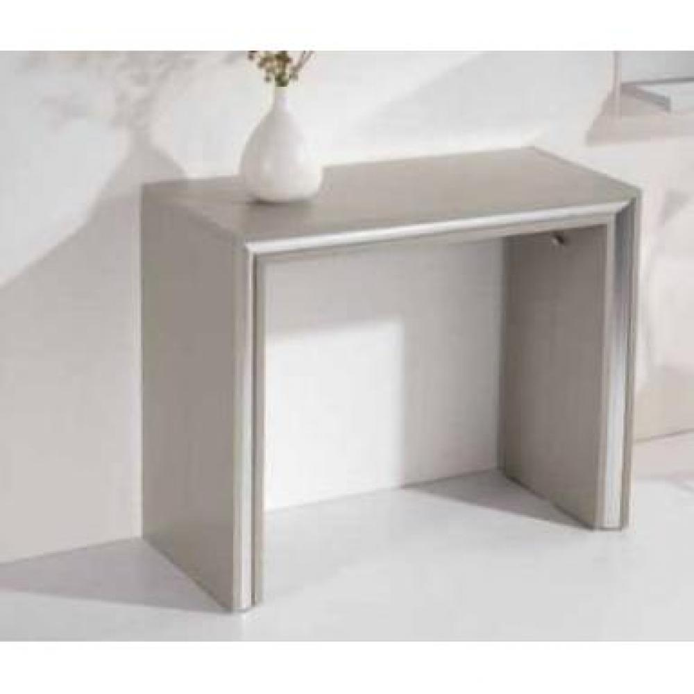 consoles extensibles tables et chaises console extensible ford design taupe inside75. Black Bedroom Furniture Sets. Home Design Ideas