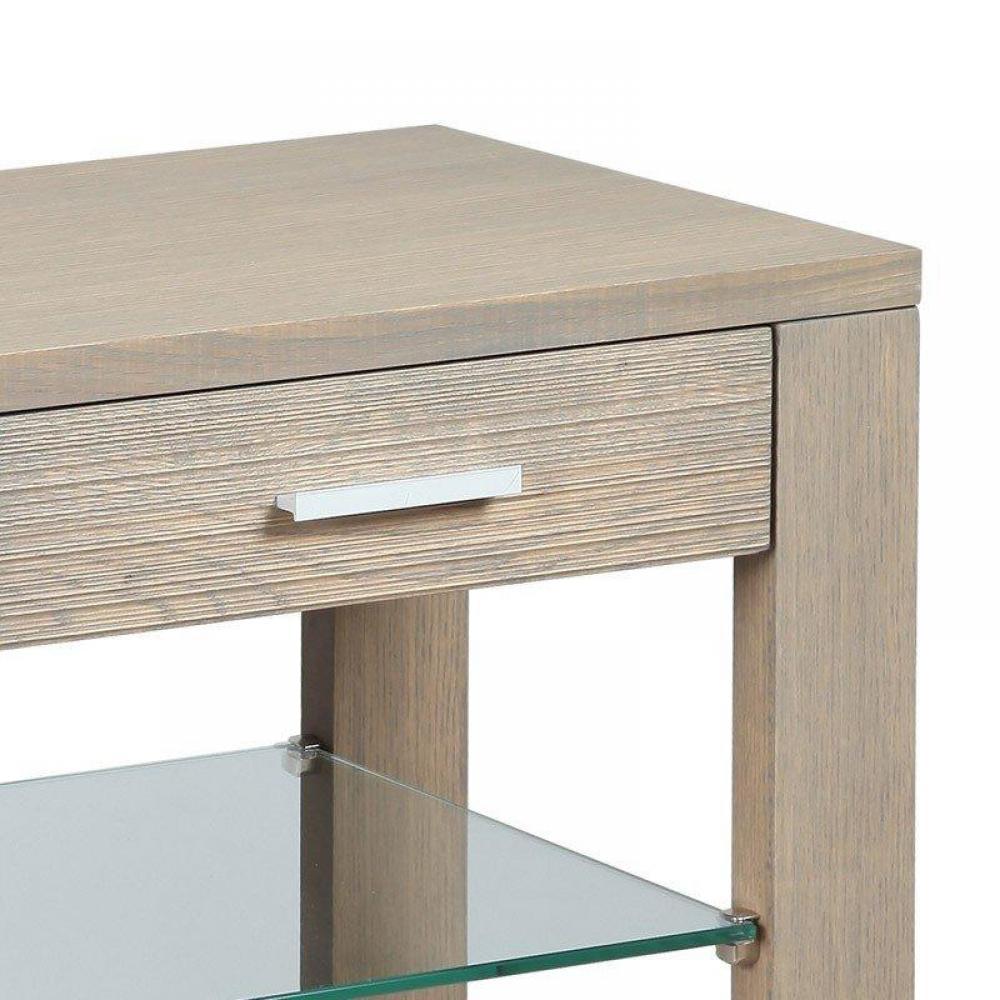 consoles tables et chaises console hans en ch ne massif gris avec 2 tiroirs inside75. Black Bedroom Furniture Sets. Home Design Ideas